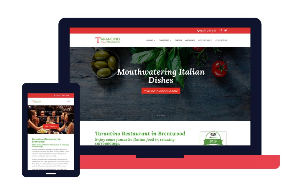 tarantinos-restaurant-website