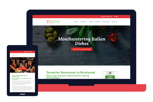 tarantinos-restaurant-website
